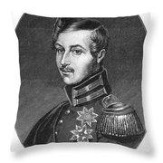 Prince Albert (1819-1861) Throw Pillow
