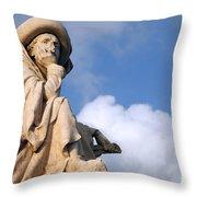 Prince Henry The Navigator Throw Pillow