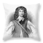 Prince Rupert (1619-1682) Throw Pillow