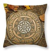 Princess Of Wales Throw Pillow
