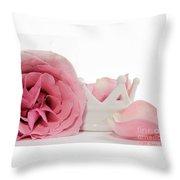 Princess Petals Throw Pillow