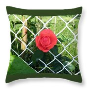 Princesse Rose Throw Pillow