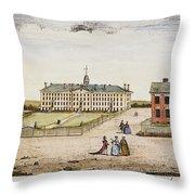 Princeton College, 1764 Throw Pillow
