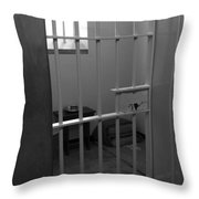 Prison Cell Throw Pillow