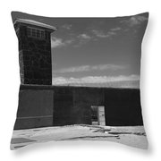 Prison Tower Throw Pillow