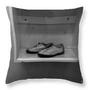 Prisoners Shoes  Throw Pillow