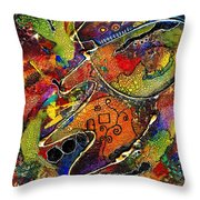 Private Getaway Throw Pillow