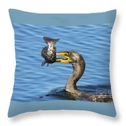 Prized Catch Throw Pillow