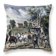 Pro-union South, 1862 Throw Pillow