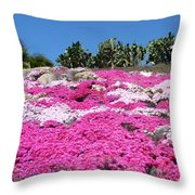 Profusion Of Pink Throw Pillow