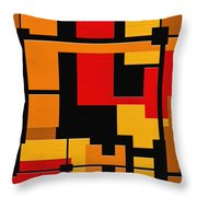 Progress Throw Pillow by Ely Arsha