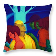 Prompt Throw Pillow