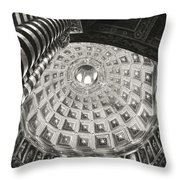 Prophets And Patriarchs Throw Pillow