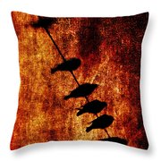 Prophets Throw Pillow