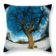 Prospect Park Tree Throw Pillow
