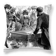 Prostitution, 1892 Throw Pillow