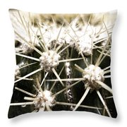 Protection Mechanism Throw Pillow
