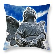 Protector Throw Pillow