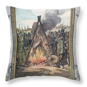 Protestant Martyrs, 1563 Throw Pillow