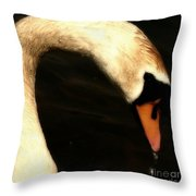 Proud Beauty Throw Pillow