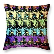 Proudly Marching Throw Pillow