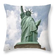 Proudly She Stands Throw Pillow