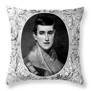 Prudence Crandall, American Educator Throw Pillow
