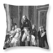 Prussian Royal Family, 1807 Throw Pillow