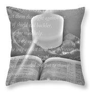 Psalm 35 Throw Pillow