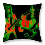 A Psychedelic Rush Throw Pillow