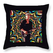 Psychedelic Spirit 2 Throw Pillow