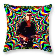 Psychedelicalifornia Throw Pillow