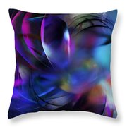 Psycho Nightmare Throw Pillow