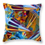 Psychodelic Chopper-2 Throw Pillow