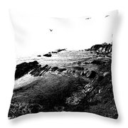 Pt Arena Lighthouse With Effect Throw Pillow
