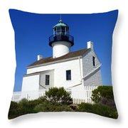 Pt. Loma Lighthouse Throw Pillow