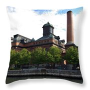 Public Works Museum Throw Pillow