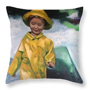 Puddles Throw Pillow