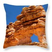 Puff The Canyon Dragon Throw Pillow
