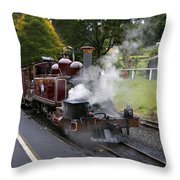 Puffing Billy V2 Throw Pillow