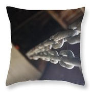 Pulling My Chain Throw Pillow