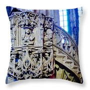 Pulpit St Stephens - Vienna Throw Pillow