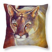 Puma Throw Pillow