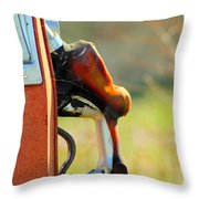 Pump From The Past Throw Pillow