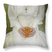 Pumpkin Throw Pillow by Joana Kruse