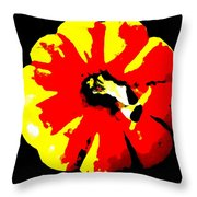 Pumpkin Of The Witch Throw Pillow