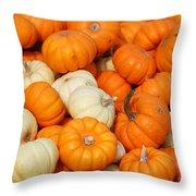 Pumpkin Squash Throw Pillow