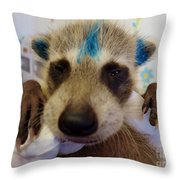 Punk Rock Throw Pillow