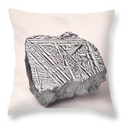 Pure Crystalline Silicon Throw Pillow