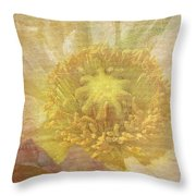 Pure Delicate Center Throw Pillow